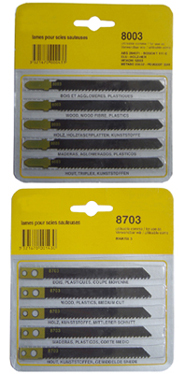 Jigsaw Blade Set Packing
